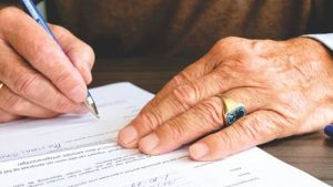 Filling insurance claim form