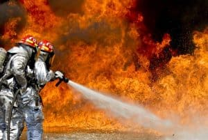The fire - it is the one of the most common causes of business interruption