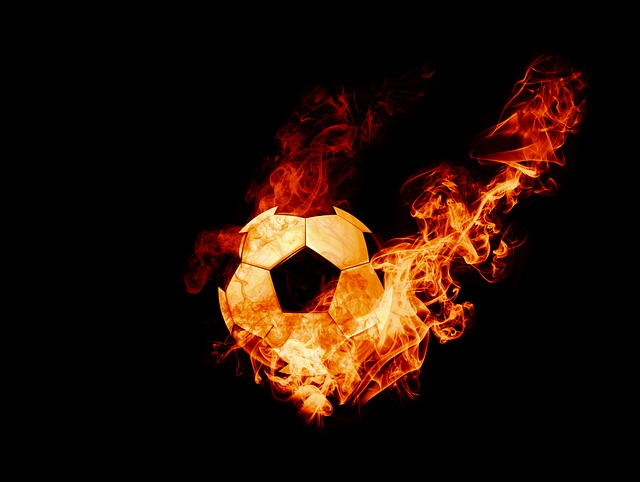 ball on fire